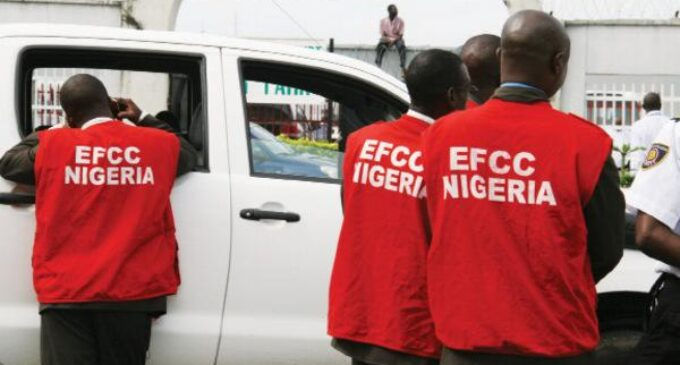 EXTRA: EFCC, lawyer engage in Twitter debate over media parade of suspects