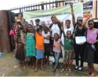NGO takes campaign against domestic violence to Lagos slum