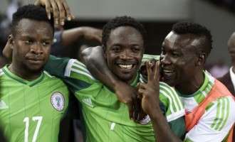 Ahmed Musa dedicates brace to Keshi
