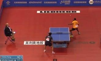 ITTF world cup: Quadri Aruna continues remarkable form