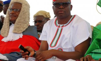 Fayose: You'd impeach God before removing me