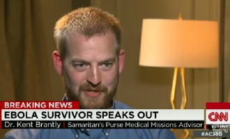 VIDEO: Brantly brands Ebola fears in the West 'irrational'