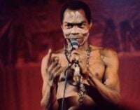 VIDEO: Did Fela perform on stage with his pants?