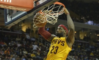 The best NBA dunks of LeBron James