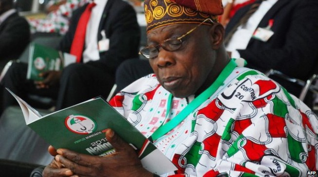 2015: Tinubu, Mark in private meeting with OBJ