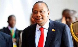 Kenyatta first serving president to appear before ICC