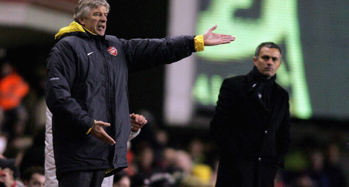 Wenger v Mourinho: Mind games couched in insults