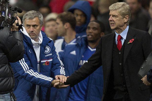 Wenger V Mourinho 2