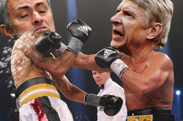 Wenger V Mourinho 3