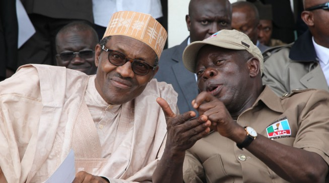 Oshiomhole: Buhari's 'focus on north' request twisted to achieve political goal