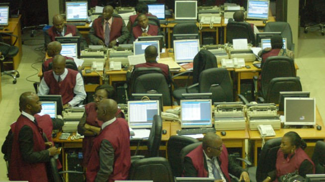 NSE loses N6.8bn within 78mins of Buhari's first outing in weeks
