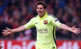 71 Champions League goals for Messi