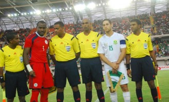 NIGERIA V S/AFRICA: Adventure of a working fan