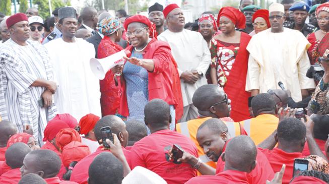 Ezekwesili donates $10,000 Swedish prize to Chibok girls