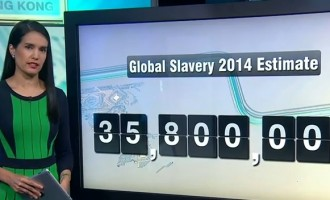 35.8 Million trapped in modern-day slavery