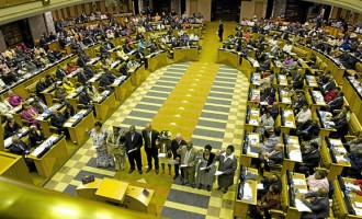 Zuma's corruption saga tears South African parliament apart