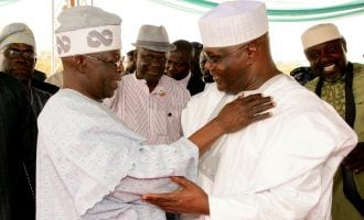 Tinubu: Atiku is my friend but we'll retire him on Saturday