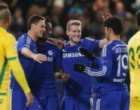UCL REVIEW: Mikel scores for Chelsea, Musa out with CSKA