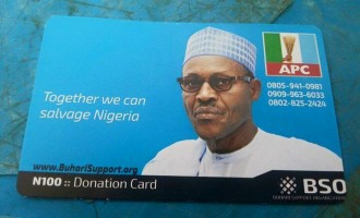 N3m worth of Buhari scratch cards 'sold in 1 day'