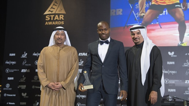 Quadri is world's table tennis player of the year