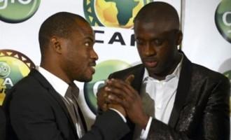 Enyeama congratulates Toure