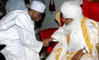 Jonathan bags traditional title from emir of Gusau