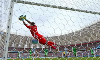 Enyeama: My dream is to become world's best keeper