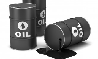 Oil recovers towards $57 per barrel