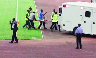 Disaster averted as medics revive Flying Eagles player