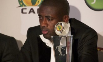 Yaya Toure top dog for CAF award again
