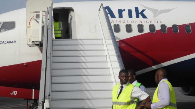 Arik Air introduces flight from Lagos to Port Harcourt air force base