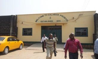 Jailbreak foiled in Calabar prisons