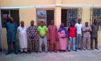 10 face arraignment for torture of Ejigbo market women