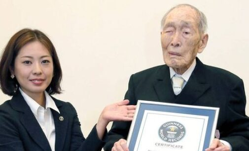World's oldest man, Sakari Momoi, turns 112