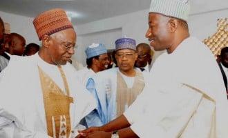 Shagari is an immense blessing, says Jonathan