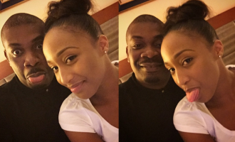 Don-Jazzy finally shows off his pretty girlfriend