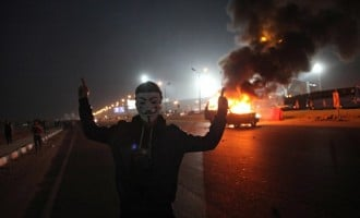 Clashes at Egyptian football match leave several dead