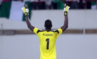 Alampasu finally joins Flying Eagles' camp