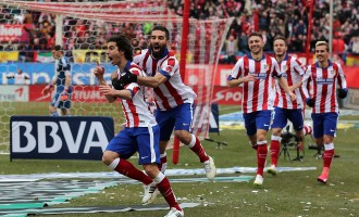 Atletico give Madrid real thrashing in derby