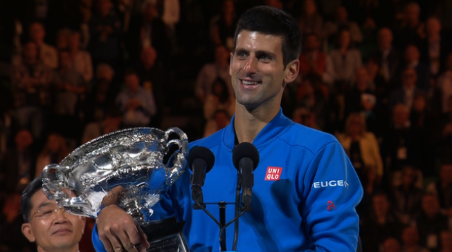 Djokovic wins 5th Australian Open title, denies Murray, again