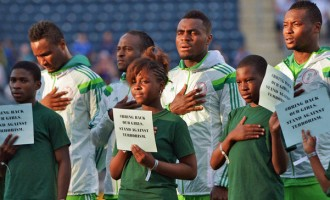 Nigeria move up a place in FIFA ranking