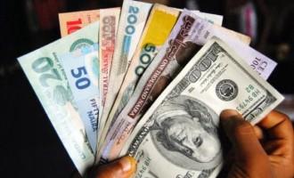 Naira depreciates against major currencies