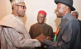 Jonathan, Buhari visit Lagos the same day