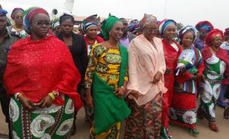 Thugs attack Buhari's wife in Kwara