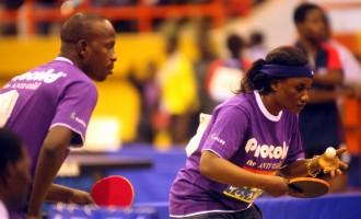 Lagos ITTF World Tour serves off