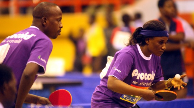 Lagos ITTF World Tour serves off