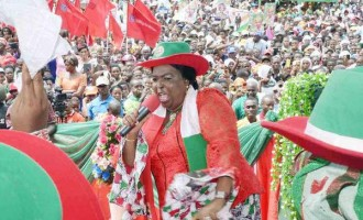 Patience Jonathan: Alison-Madueke corrupt? How did she become OPEC president!