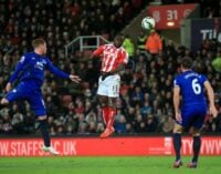 Victor Moses, Diouf strikes secure Stoke win