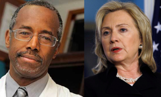 Carson, Clinton 'favoured' for 2016 US presidency