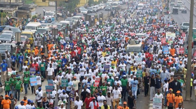 Osinbajo, Tinubu lead APC's million-man march